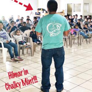 Hilmar in Chalky Mint